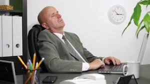 Do you fall asleep at the office?